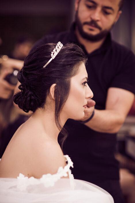 gelin saç makyaj fotoğrafçısı, gelin saç fotoğrafı çekimleri, gelin kuaför fotoğrafları, gelin düğün öncesi çekimleri